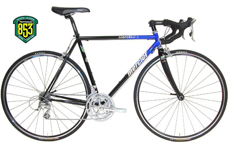 CyclesMercier Serpens : Reynolds 853 Steel : Shimano Ultegra ...